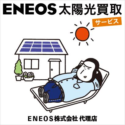 ENEOS太陽光買取サービス JXTGエネルギー代理店